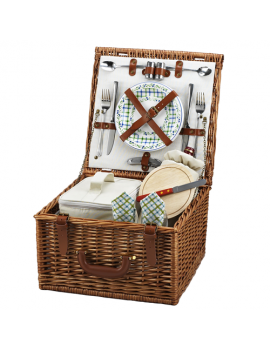 Picnic At Ascot Cheshire Picnic Basket for 2 Gazebo