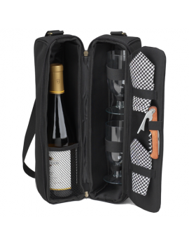 Picnic At Ascot Classic Sunset Wine Cooler Tote