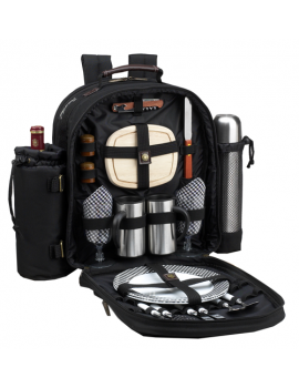 Picnic At Ascot Coffee Picnic Backpack for 2