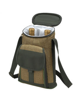 Picnic At Ascot Eco Two Bottle Tote