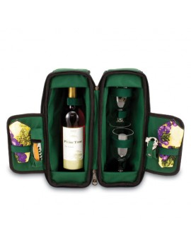 Picnic Time Estate Wine Tote