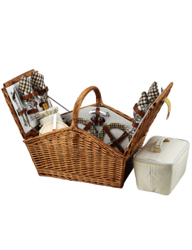 Picnic At Ascot Huntsman Picnic Basket for 4 London