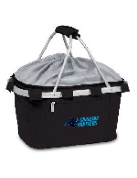 Picnic Time NFL Metro Collapsible Picnic Basket - Carolina Panthers