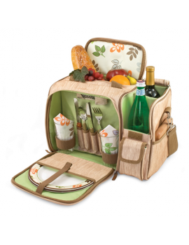 Picnic Time Malibu Botanica Picnic Backpack for 2