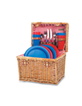Picnic Time Oxford Picnic Basket for 4