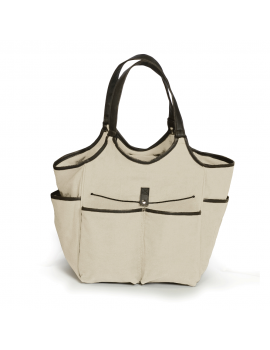 Picnic Plus Palmetto Picnic Tote for 2 Cream