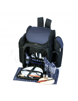 Picnic Plus Tandoor Picnic Backpack for 4 Navy
