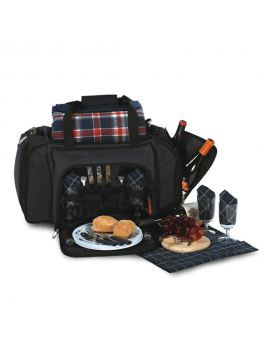 Picnic Plus Quattro Picnic Duffel for 4 Navy