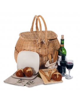 Picnic Plus Eco Picnic Basket for 2