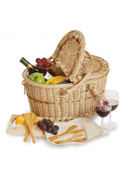 Picnic Plus Eco Creston Picnic Basket for 2