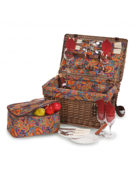 Picnic Plus Glenloch Picnic Basket for 4