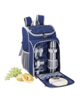 Sutherland Cafe Sierra Coffee/Tea Picnic Backpack for 2