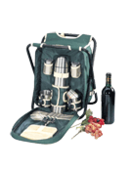 Sutherland Sideline Picnic Backpack & Chair for 2