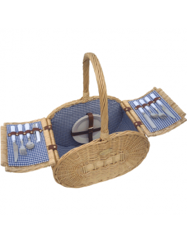 Sutherland Classic Gourmet Picnic Basket for 2
