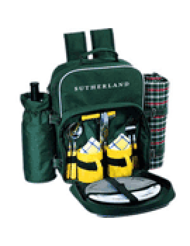 Sutherland Irish Meadow Picnic Backpack for 2