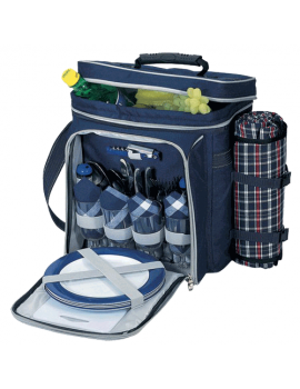 Sutherland Smoky Mountain Getaway Picnic Cooler for 4