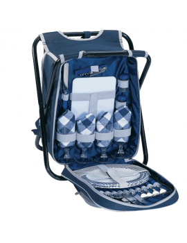 Sutherland Homestead Picnic Backpack & Chair for 4
