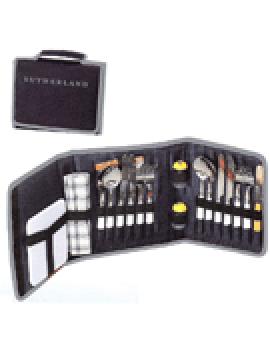 Sutherland Bordeaux Travel Picnic Wallet